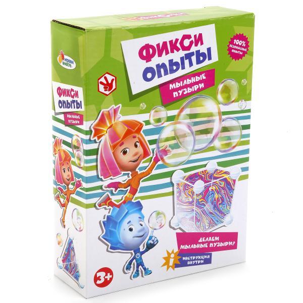 Купить Опыты для детей: Мыльные Пузыри из серии Фиксики, Играем вместе