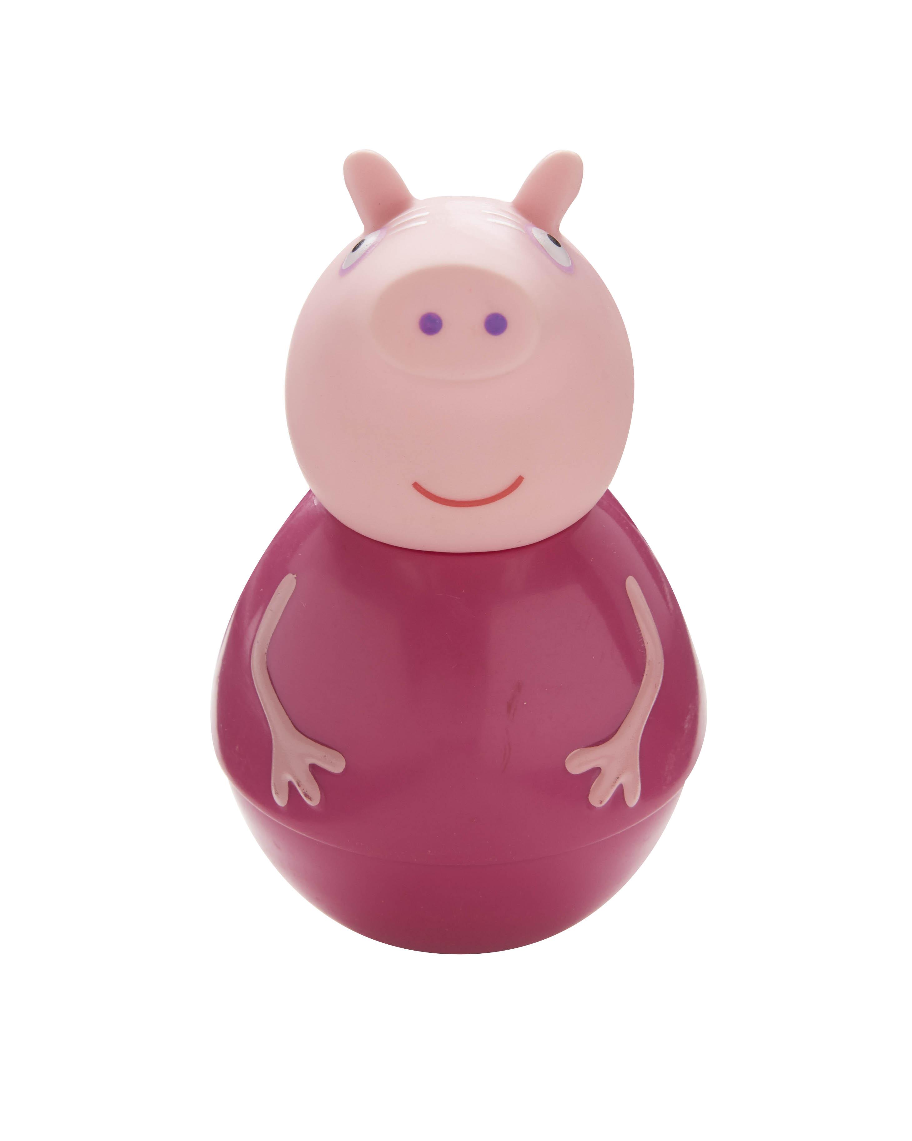 Фигурка-неваляшка Weebles «Бабушка Пеппы» тм Peppa PigСвинка Пеппа Peppa Pig<br>Фигурка-неваляшка Weebles «Бабушка Пеппы» тм Peppa Pig<br>