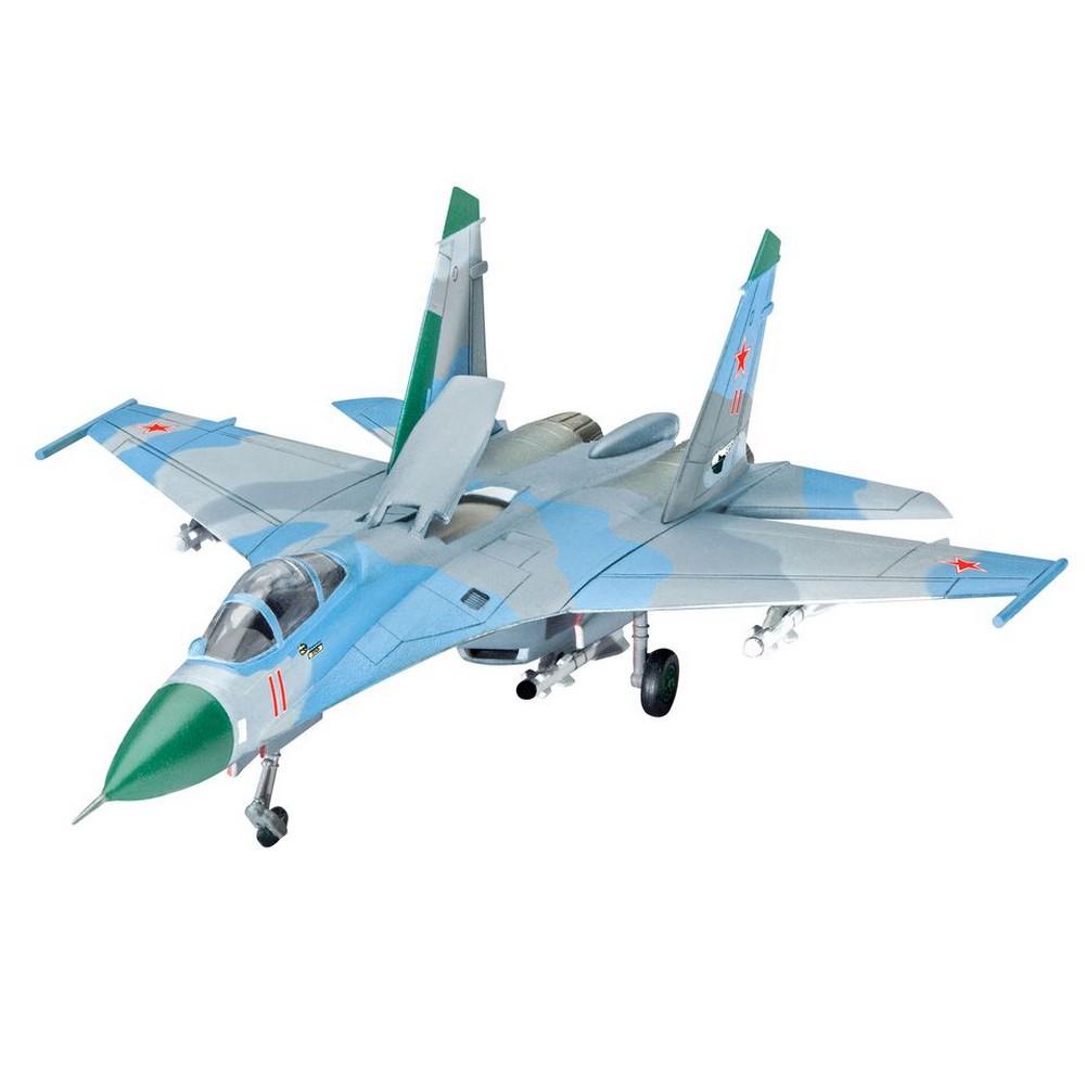 Сборная модель - Многоцелевой истребитель СУ-27Модели самолетов для склеивания<br>Сборная модель - Многоцелевой истребитель СУ-27<br>