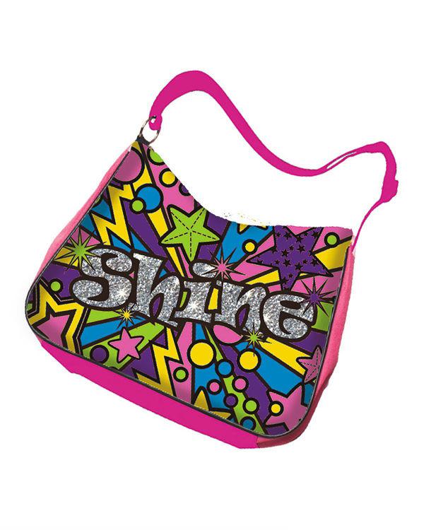 Стильная сумочка с 5 перманентными маркерами и блёстками серии Лето - Сумки и рюкзачки Simba Color Me mine, артикул: 96464