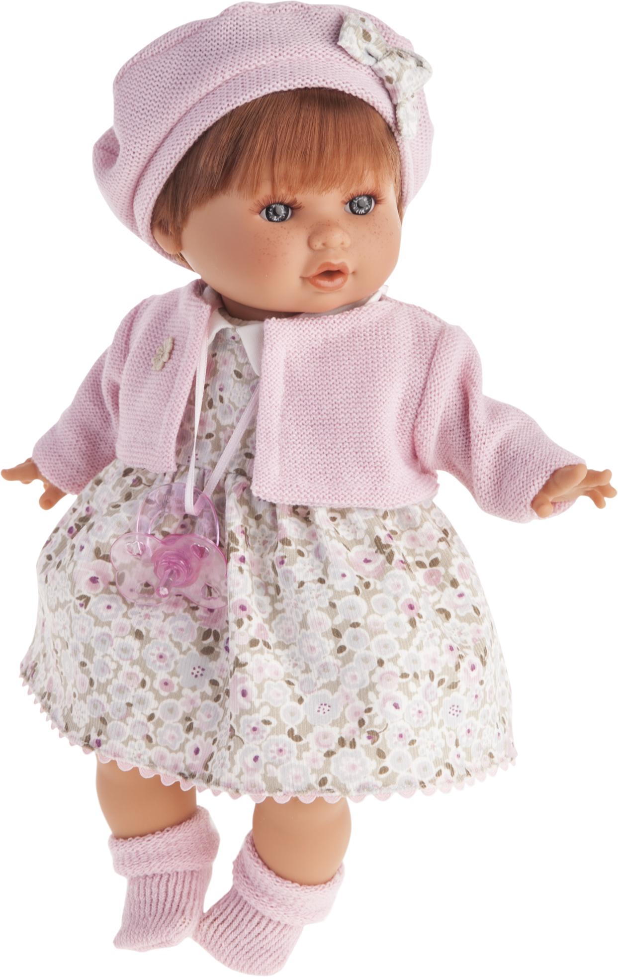 Кукла Кристиана в розовом, плачет, 30 см.Куклы Антонио Хуан (Antonio Juan Munecas)<br>Кукла Кристиана в розовом, плачет, 30 см.<br>