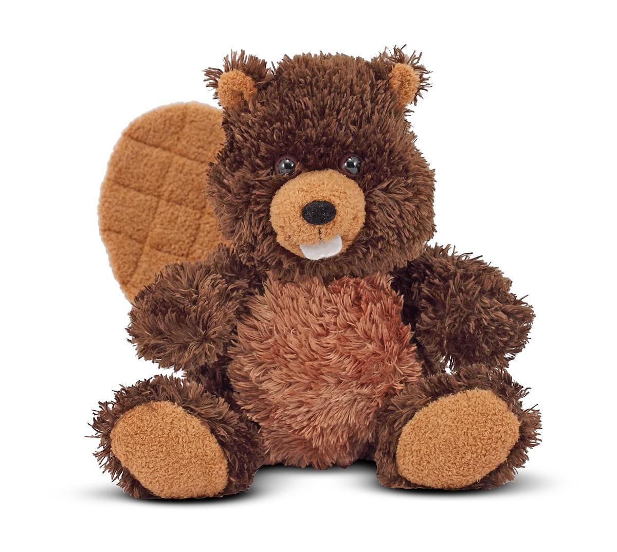 Мягкая игрушка - БоберДикие животные<br>Мягкая игрушка - Бобер<br>