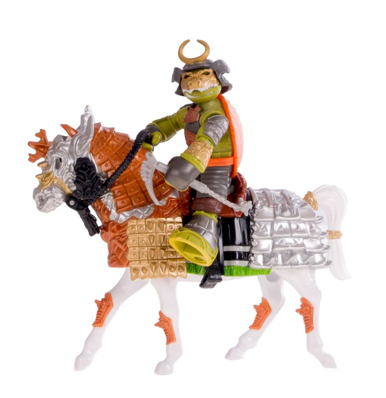 Набор Черепашки-ниндзя – Всадник-самурай Майки на конеЧерепашки Ниндзя<br>Набор Черепашки-ниндзя – Всадник-самурай Майки на коне<br>