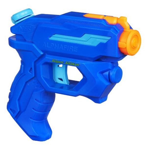 Бластер из серии Нёрф - Супер Сокер АльфаВодяные пистолеты<br>Бластер из серии Нёрф - Супер Сокер Альфа<br>