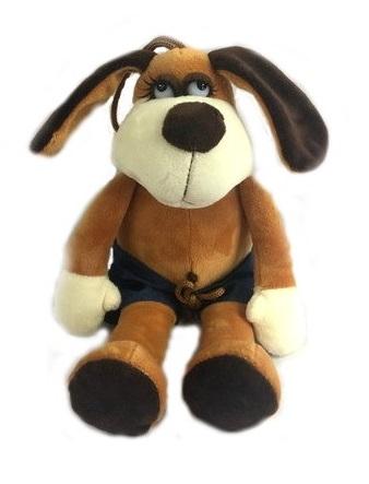 Мягкая игрушка - Собака в шортах, 15 смСобаки<br>Мягкая игрушка - Собака в шортах, 15 см<br>
