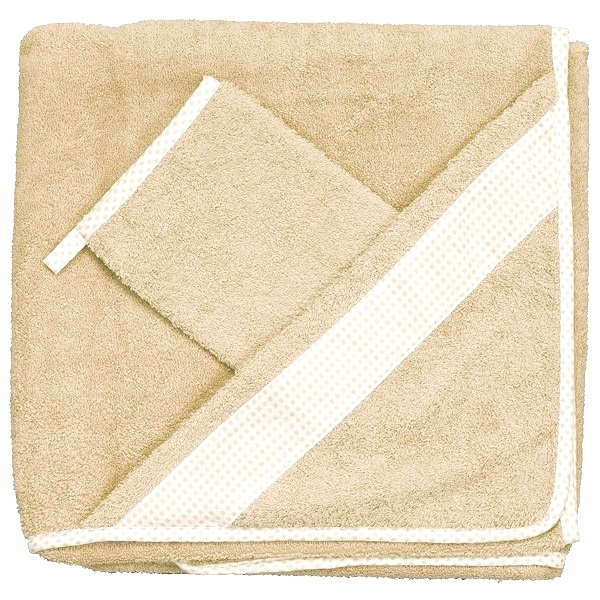 Комплект для купания Бебихуд, светло-бежевый - Ванная комната и гигиена, артикул: 166324