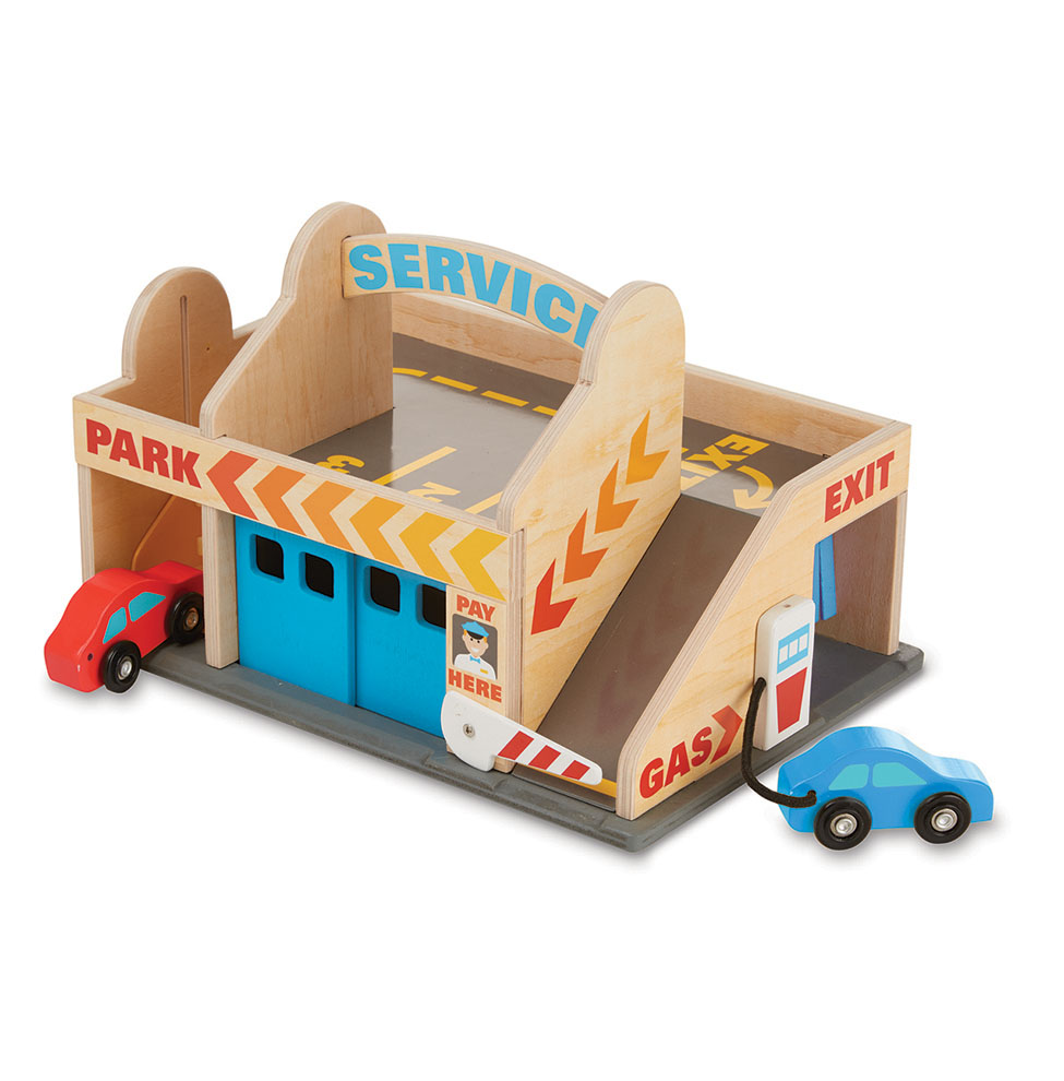Классические игрушки – автостоянка - Детские парковки и гаражи, артикул: 157067