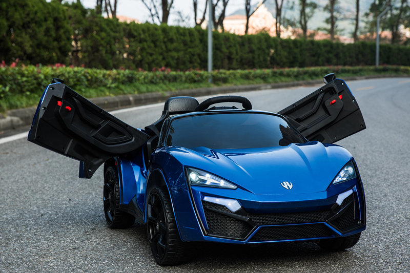 Электромобиль Lykan QLS 5188 4Х4 синего цвета, ToyLand  - купить со скидкой