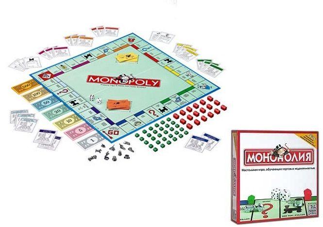 Игра настольная «Монополия» - Монополия, артикул: 8296