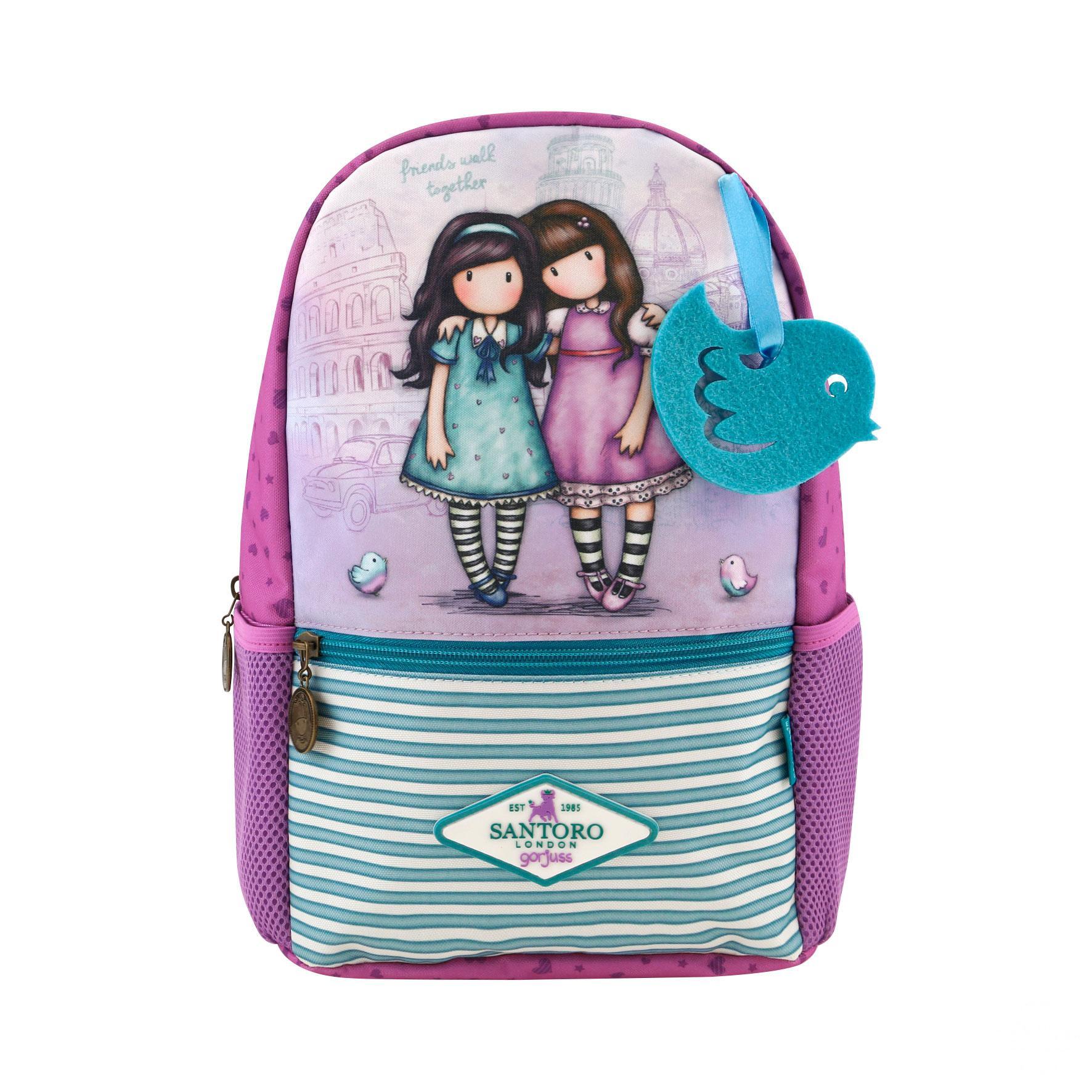 Купить Маленький рюкзак Cityscape - Friends Walk Together из серии Gorjuss, Santoro London
