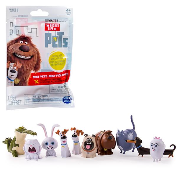 Мини-фигурка Secret Life of Pets - Тайная жизнь домашних животных в мягкой упаковке от Toyway