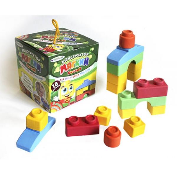 Конструктор мягкий для малышей, 18 деталейКонструкторы других производителей<br>Конструктор мягкий для малышей, 18 деталей<br>