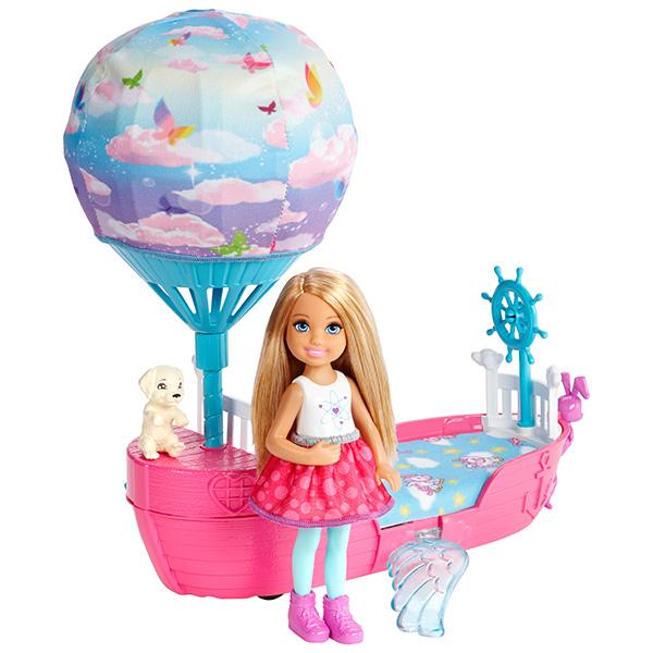 Mattel Barbie. Волшебная кроватка ЧелсиКуклы Barbie (Барби)<br>Mattel Barbie. Волшебная кроватка Челси<br>