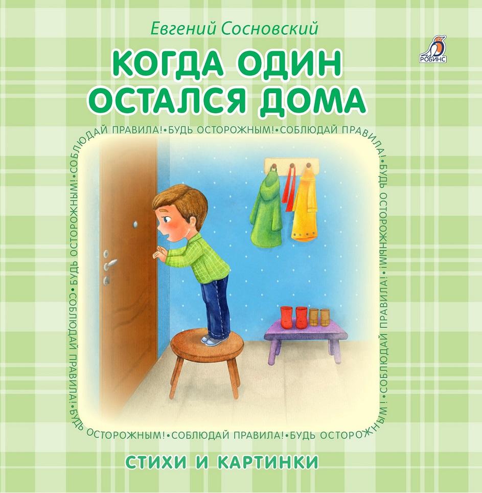 РОБИНС Книжка – картонка - Когда один остался дома