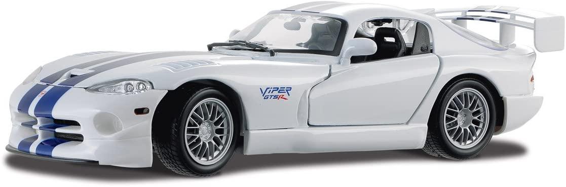 Модель машины - Dodge Viper GT2, 1:18 фото