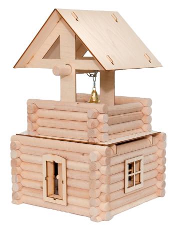 Деревянный конструктор. Колокольня, 78 деталей - Деревянный конструктор, артикул: 158712