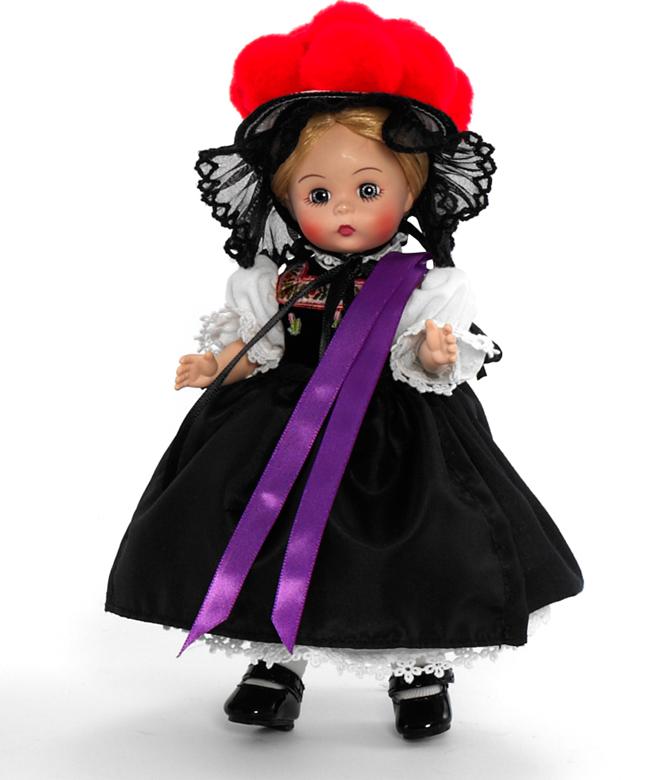 Кукла - Девочка из Германии, 20 смКуклы Madame Alexander<br>Кукла - Девочка из Германии, 20 см<br>