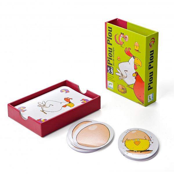 Детская настольная карточная игра Чик-чирик