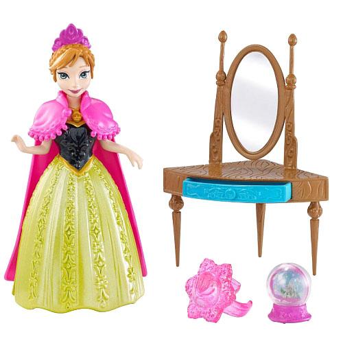 Игровой набор с мини-куклой - Анна из королевства ЭренделлКуклы холодное сердце<br>Игровой набор с мини-куклой - Анна из королевства Эренделл<br>