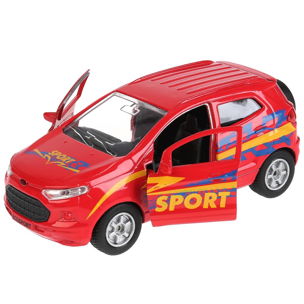 Купить Машина инерционная металлическая - Ford Ecosport Спорт, 12 см, открываются двери, Технопарк