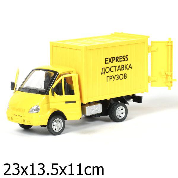 Инерционная машина Газель Express доставка грузов, свет, звукГазель<br>Инерционная машина Газель Express доставка грузов, свет, звук<br>