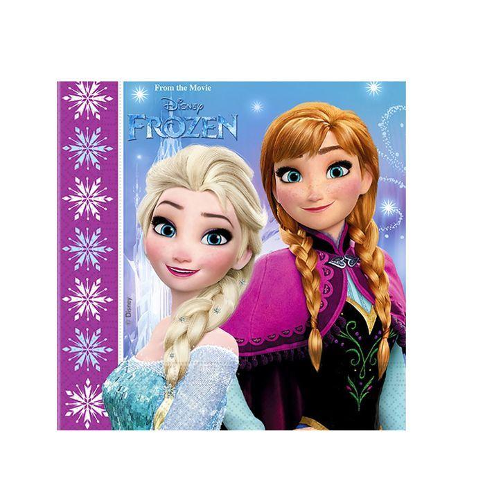 Салфетка Frozen - Северное сияние 33 см, 20 штукХолодное Сердце<br>Салфетка Frozen - Северное сияние 33 см, 20 штук<br>