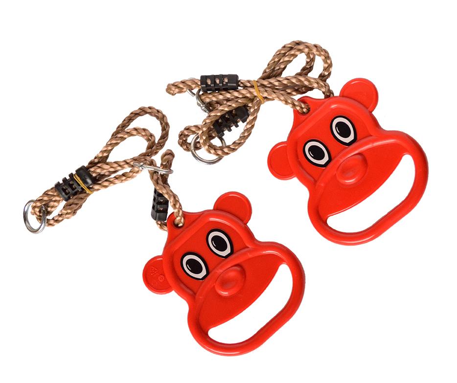 Кольца гимнастические – Микки, красный