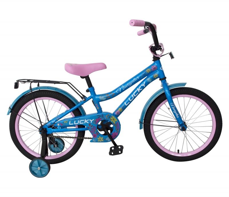 Купить Детский велосипед Navigator - Lucky, колеса 16 , стальная рама и обода