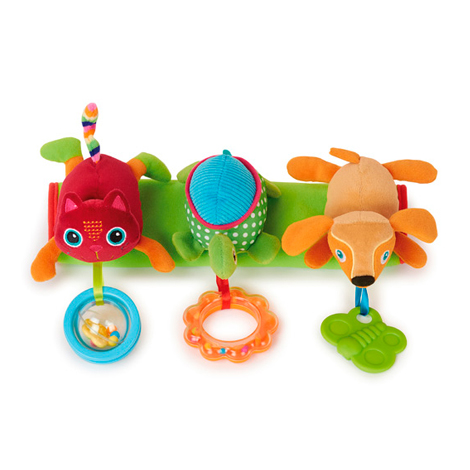 Игрушка развивающая Подвеска на коляску ГородДетские погремушки и подвесные игрушки на кроватку<br>Игрушка развивающая Подвеска на коляску Город<br>