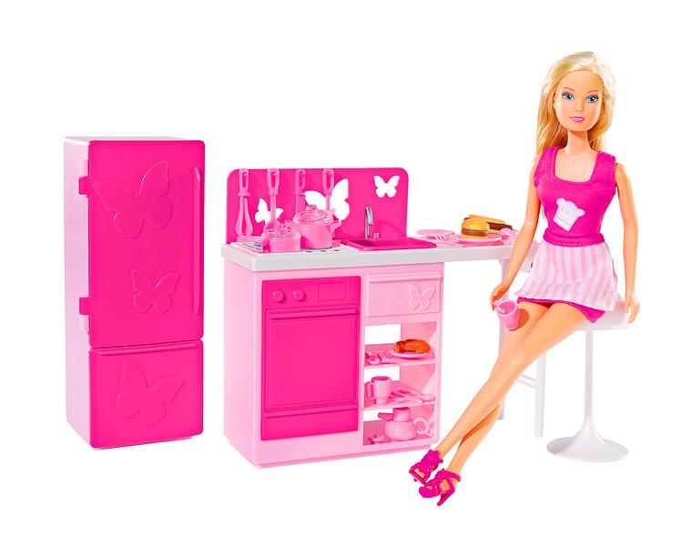 Кукла Штеффи на кухнеКуклы Steffi (Штеффи)<br>Кукла Штеффи на кухне<br>