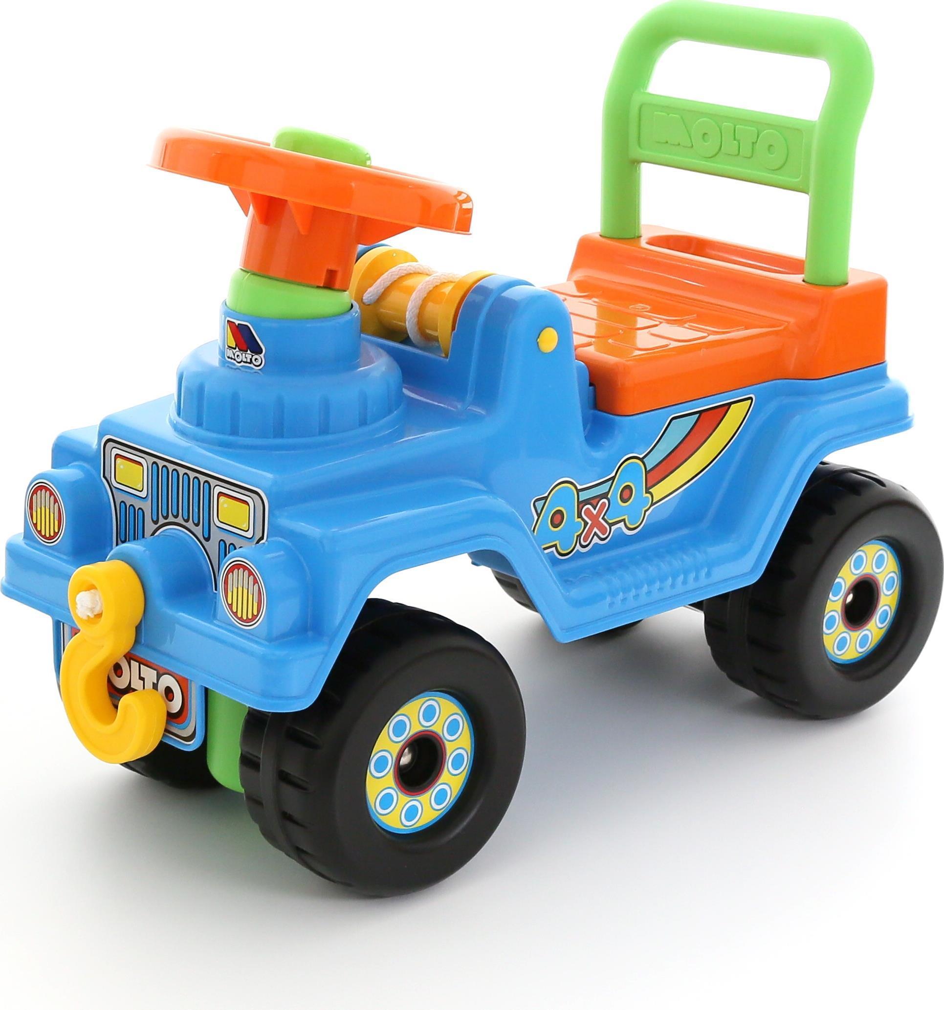 Джип 4х4 - №2, голубойМашинки-каталки для детей<br>Джип 4х4 - №2, голубой<br>