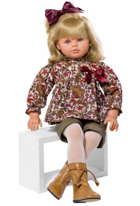 Кукла Пепа в рыжих сапожках, 60 см.Куклы ASI (Испания)<br>Кукла Пепа в рыжих сапожках, 60 см.<br>