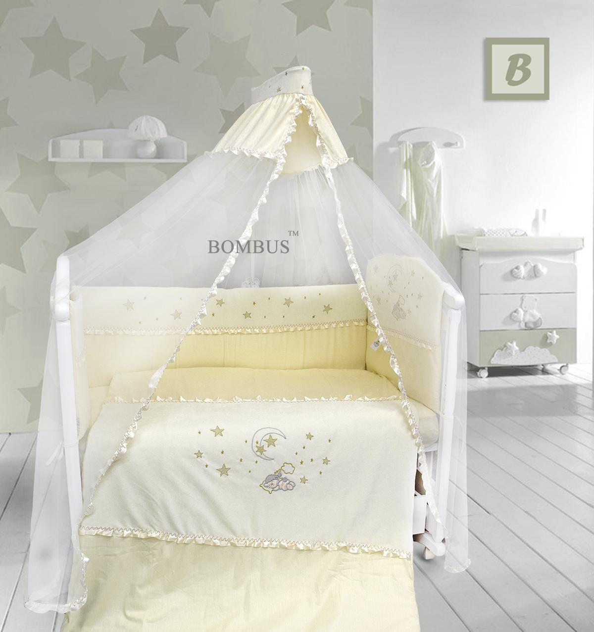 Комплект в кроватку - Малышок, 7 предметовДетское постельное белье<br>Комплект в кроватку - Малышок, 7 предметов<br>