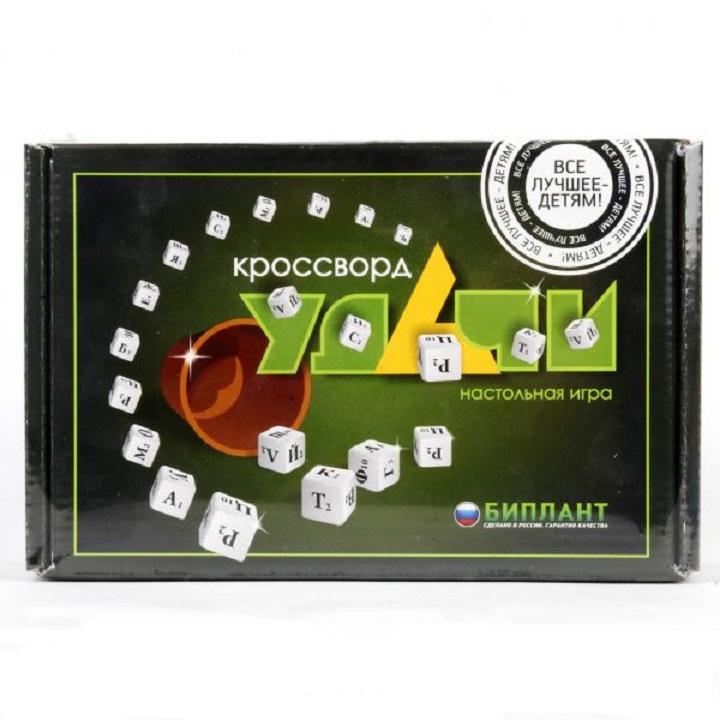Игра настольная - Кроссворд удачи, зеленыйРазвивающие<br>Игра настольная - Кроссворд удачи, зеленый<br>