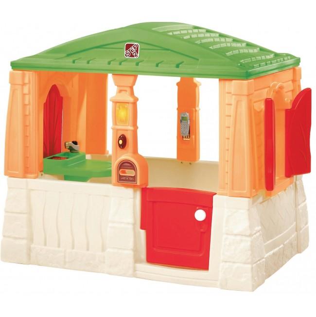 Уютный коттедж - Пластиковые домики для дачи, артикул: 164290
