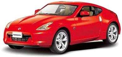 Металлическая машинка Nissan 370Z, масштаб 1:43NISSAN<br>Металлическая машинка Nissan 370Z, масштаб 1:43<br>