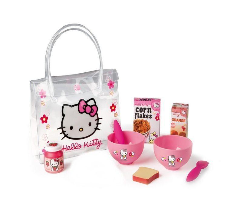 Набор для завтрака Hello KittyАксессуары и техника для детской кухни<br>Игровой набор для девочек из серии Hello Kitty...<br>