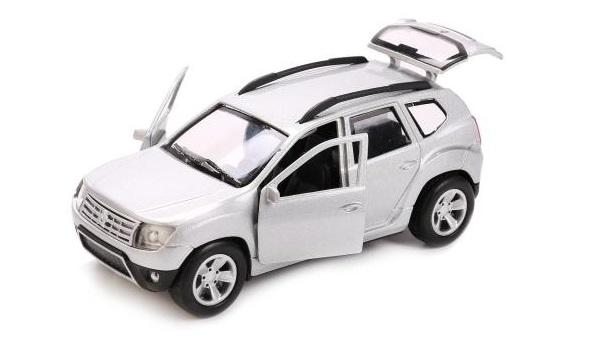 Металлическая инерционная машина - Renault Duster, 12 смRenault<br>Металлическая инерционная машина - Renault Duster, 12 см<br>