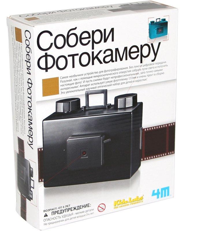 Развивающий набор - Собери фотокамеруЮный инженер<br>Развивающий набор - Собери фотокамеру<br>
