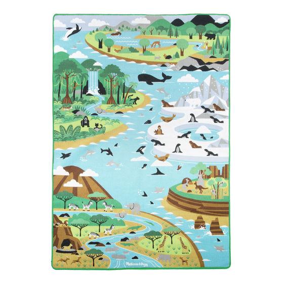 Большой коврик  Среда обитания - Детские развивающие коврики для новорожденных, артикул: 170564
