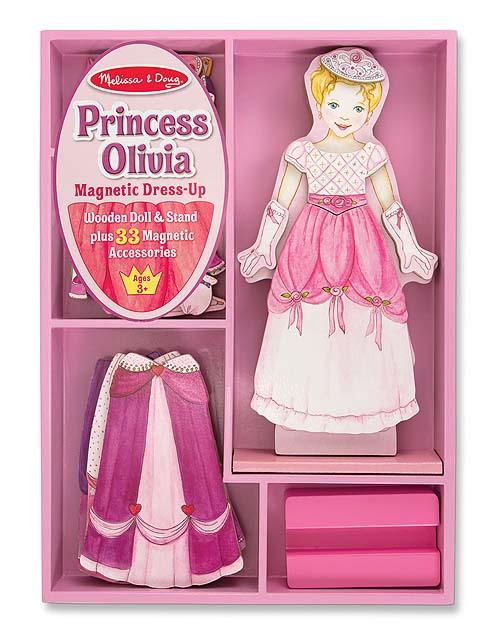 """Набор «Одень принцессу Оливию» из серии """"Магнитные игры"""" от Toyway"""