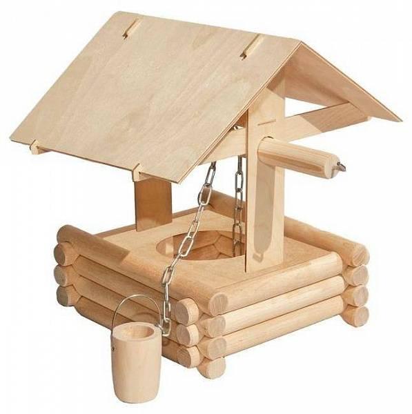 Деревянный конструктор. Колодец - Деревянный конструктор, артикул: 158711