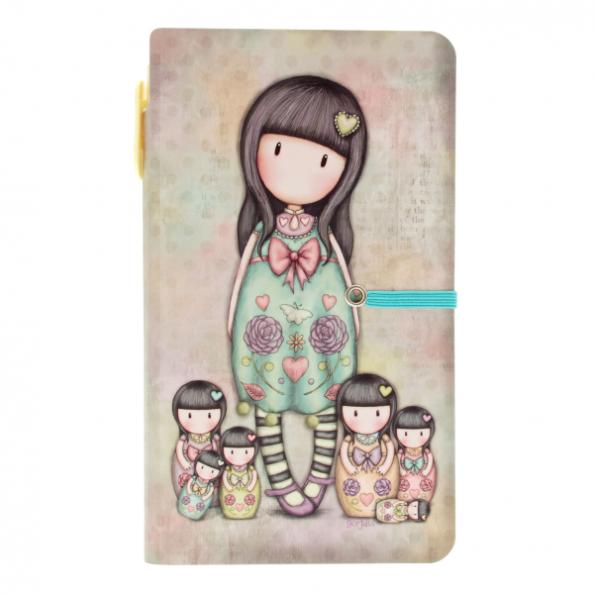 Купить Блокнот с ручкой - Seven Sisters, Santoro London