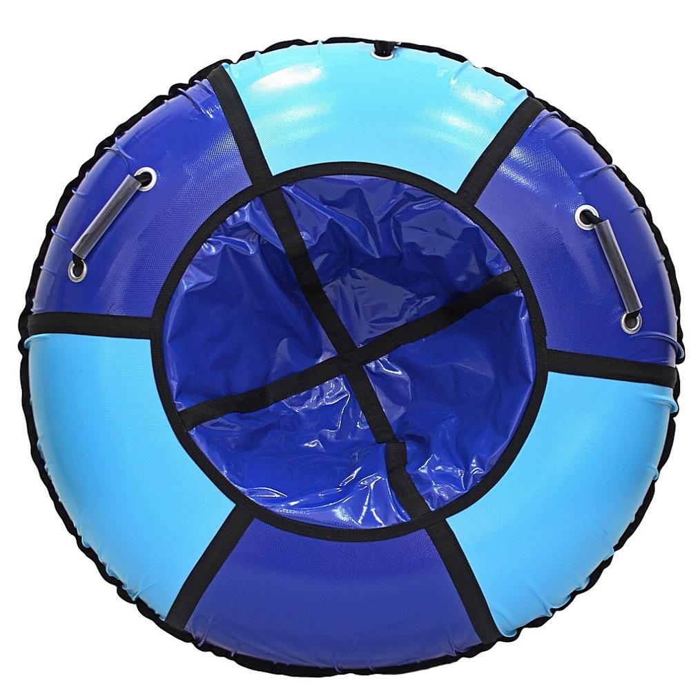 Санки надувные. Тюбинг - RT Практик, верх-ПВХ, сине-голубой, диаметр 118 смВатрушки и ледянки<br>Санки надувные. Тюбинг - RT Практик, верх-ПВХ, сине-голубой, диаметр 118 см<br>