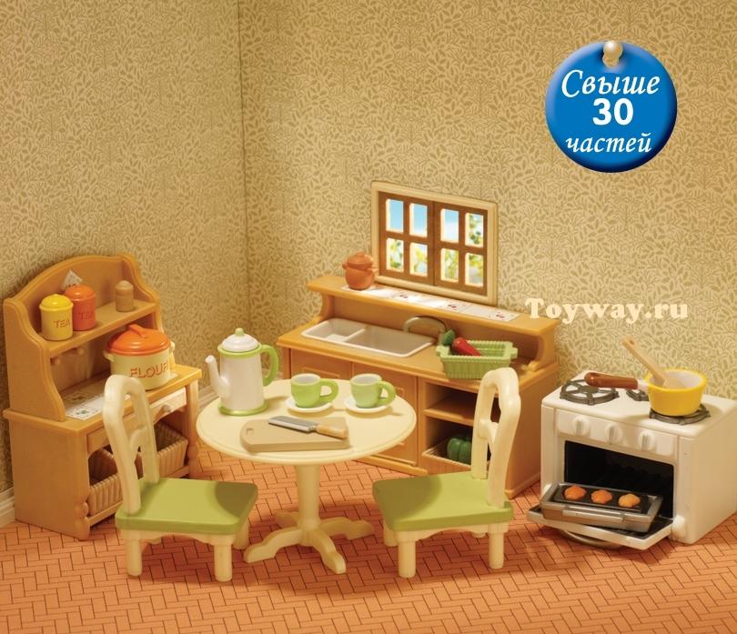 Sylvanian Families - Кухня в коттеджеМебель<br>Sylvanian Families - Кухня в коттедже<br>