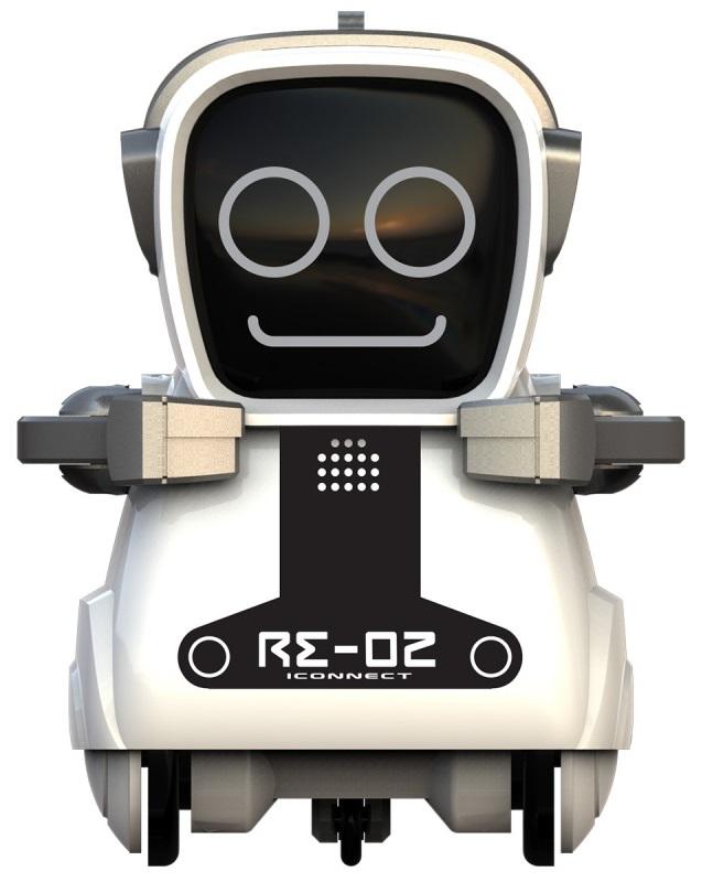 Робот интерактивный «Покибот Silverlit» белый квадратный от Toyway
