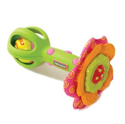 Развивающая игрушка-погремушка ЦветочекДетские погремушки и подвесные игрушки на кроватку<br>Развивающая игрушка-погремушка Цветочек<br>