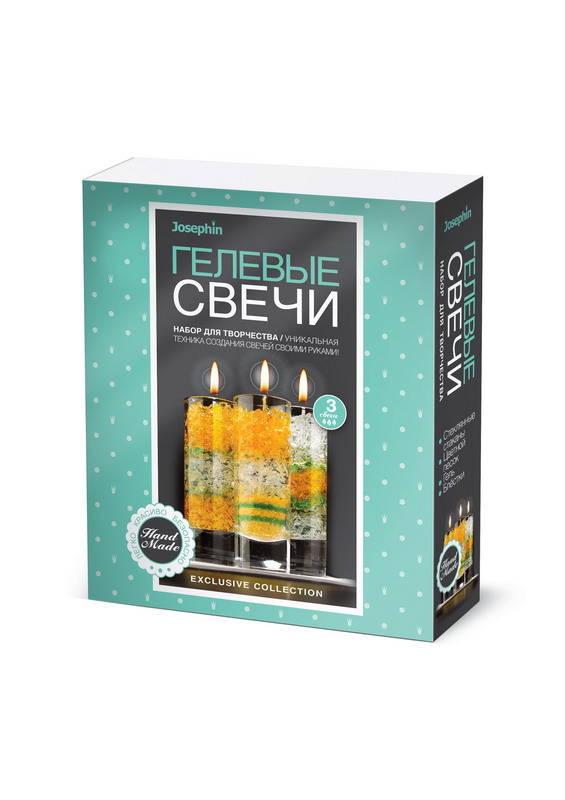 Свечи гелевые Josephin - Набор №5Создание гелевых свечей<br>Свечи гелевые Josephin - Набор №5<br>
