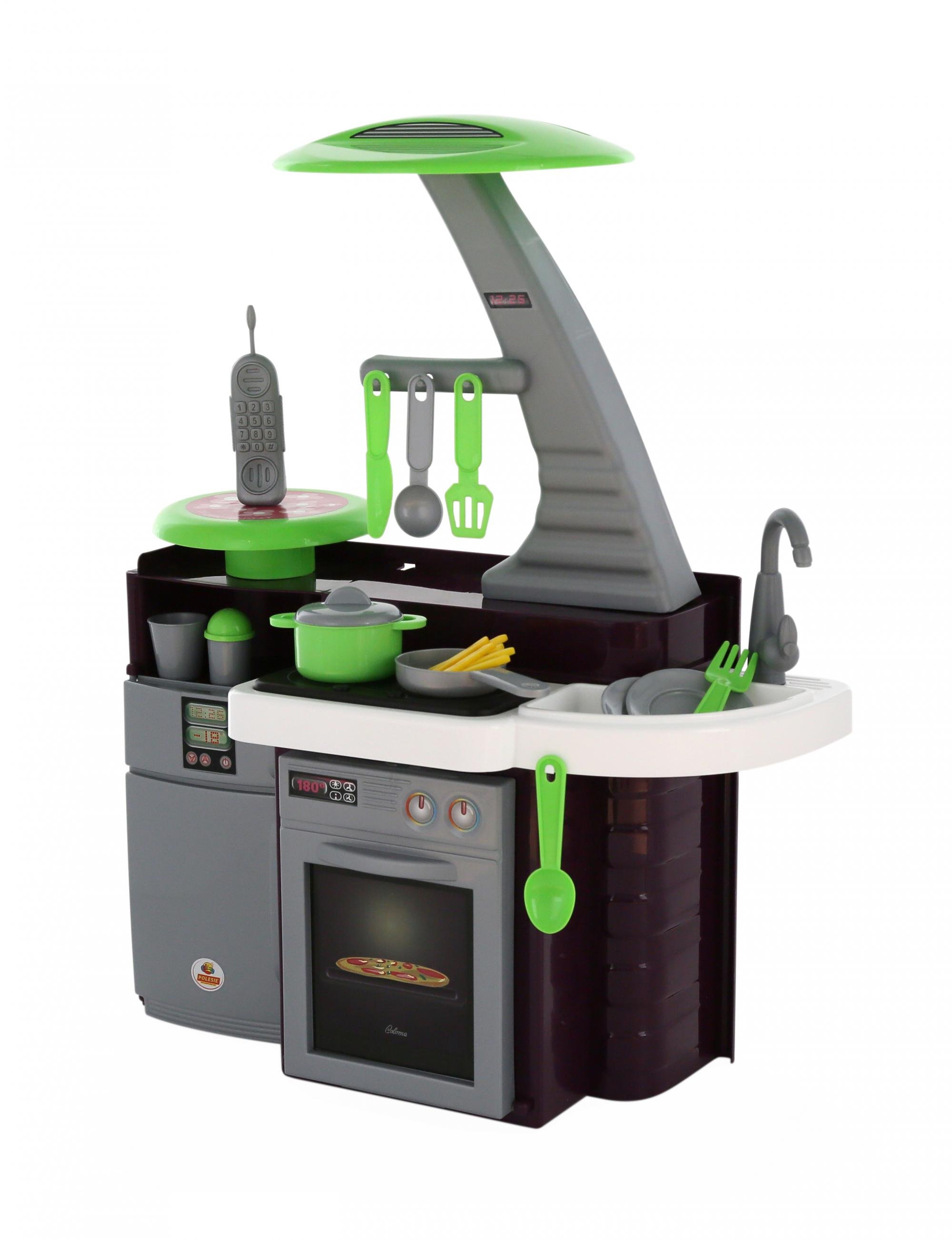 Игровая кухня Laura с варочной панелью, в пакете Полесье