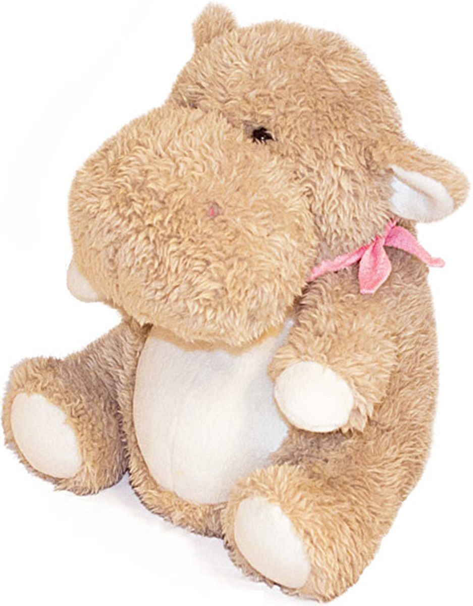 Мягкая игрушка – Бегемотик Ральф, 38 см.Животные<br>Мягкая игрушка – Бегемотик Ральф, 38 см.<br>